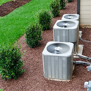 Multiple A/C Units outside