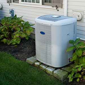 A/C Unit outside building